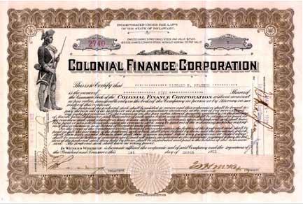 obbligazioni statunitensi vecchie