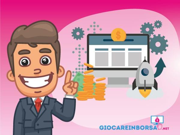 Giocare in Borsa online - Infografica a cura di ©Giocareinborsa.net