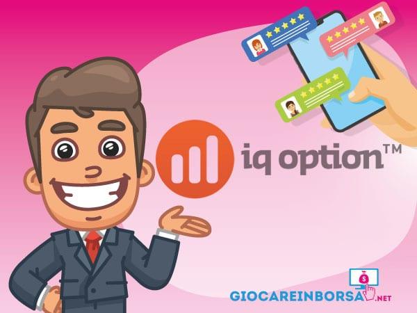 recensione completa ed opinioni su IQ Option - Infografica a cura di ©GiocareinBorsa.net