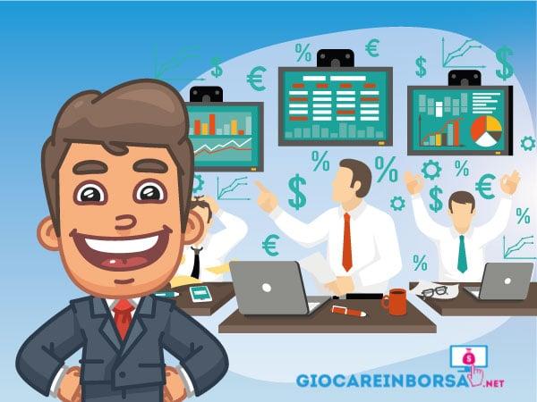 Guida al trading di azioni - Infografica a cura di ©Giocareinborsa.net
