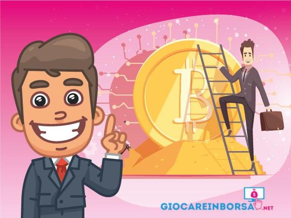 Guida al trading di criptovalute - Infografica a cura di ©Giocareinborsa.net