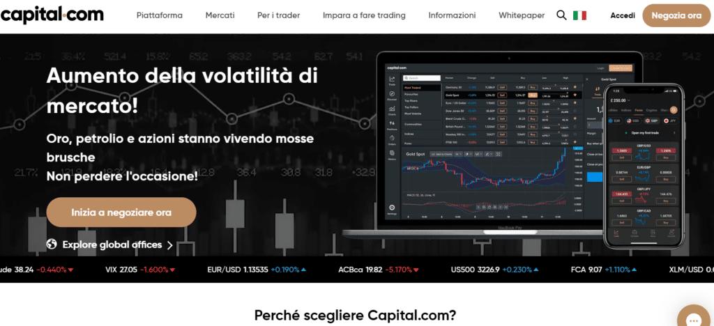 sito ufficiale capital.com