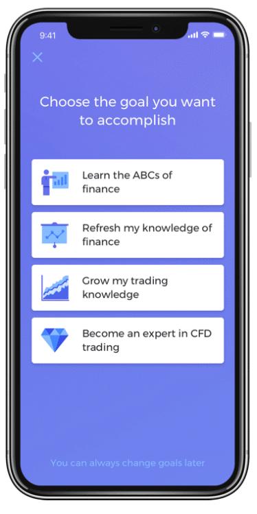 Investmate applicazione capital.com