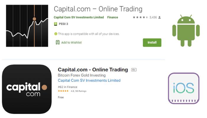 recensioni app capital.com