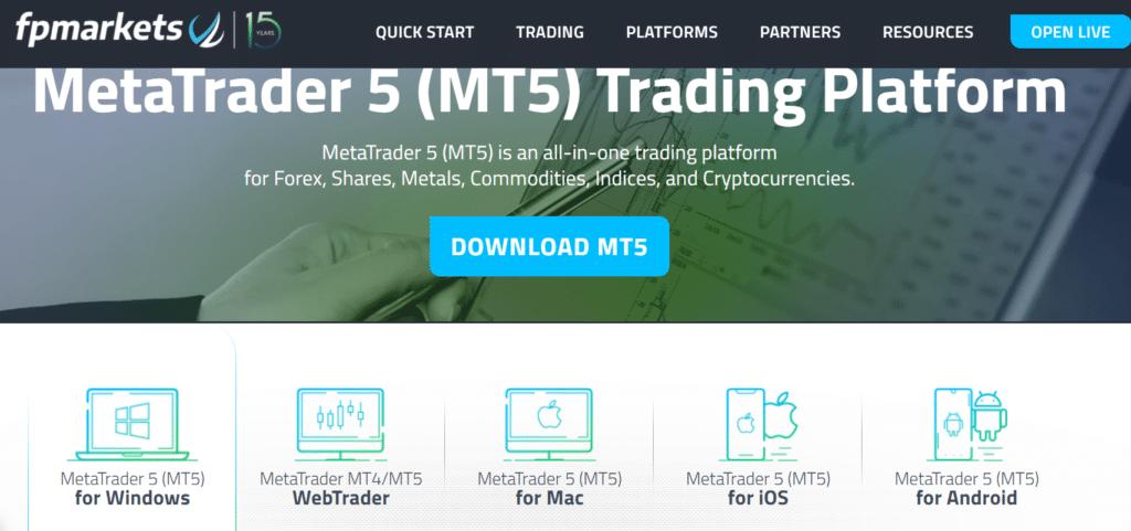 MT5 METATRADER