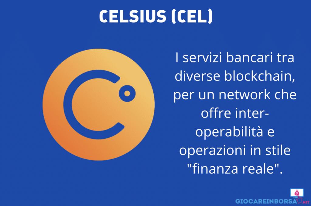 Celsius scheda e infografica