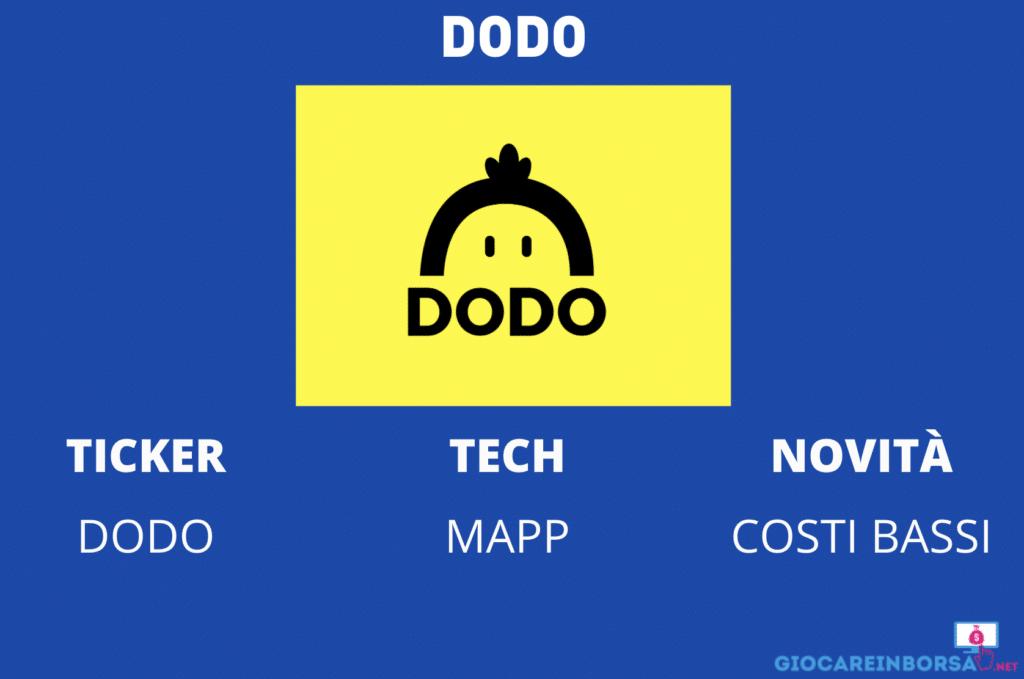 DODO - infografica