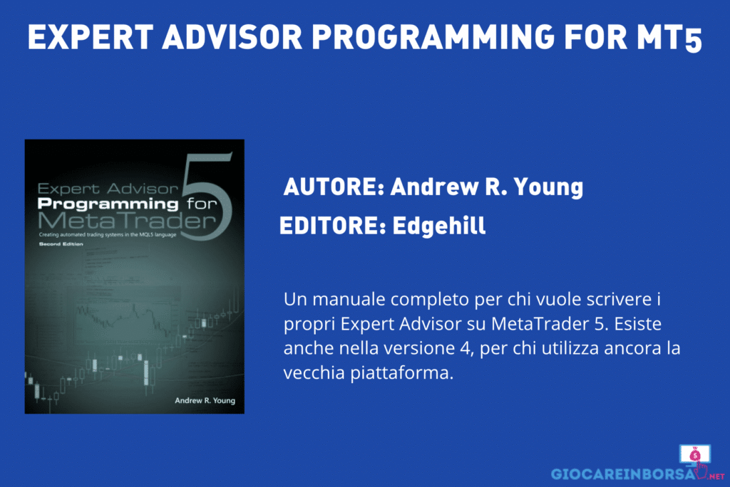 Expert Advisor Programming for Mt5 - di Andrew R. Young - Scheda