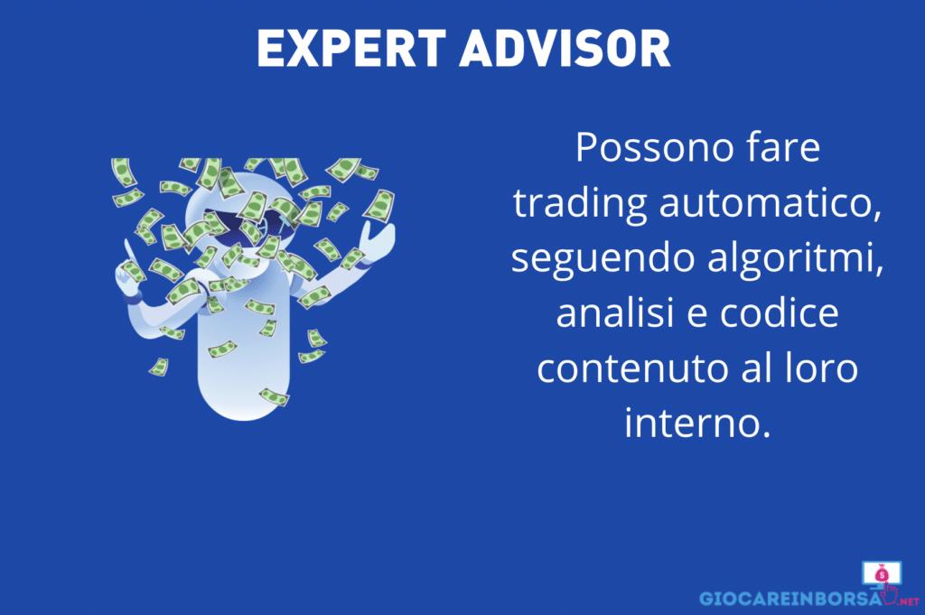 expert advisor - infografica