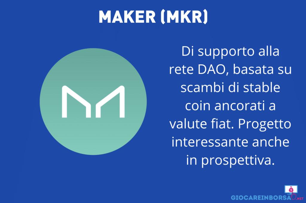 Maker - scheda - infografica