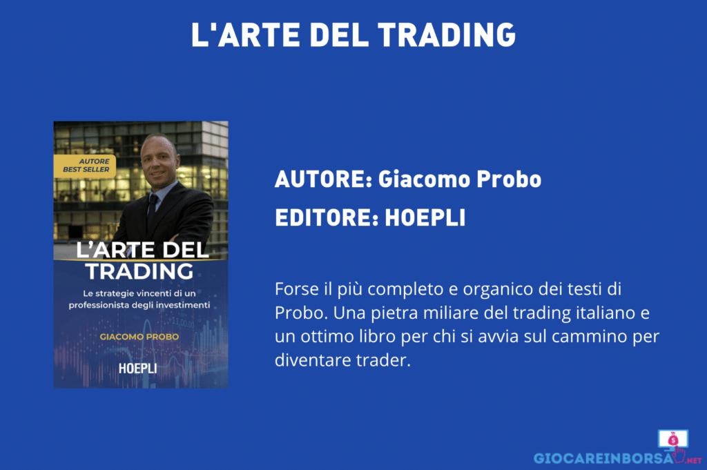 L'arte del trading - di Giacomo Probo - scheda