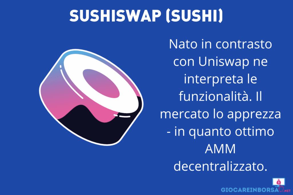 Sushiswap - infografica