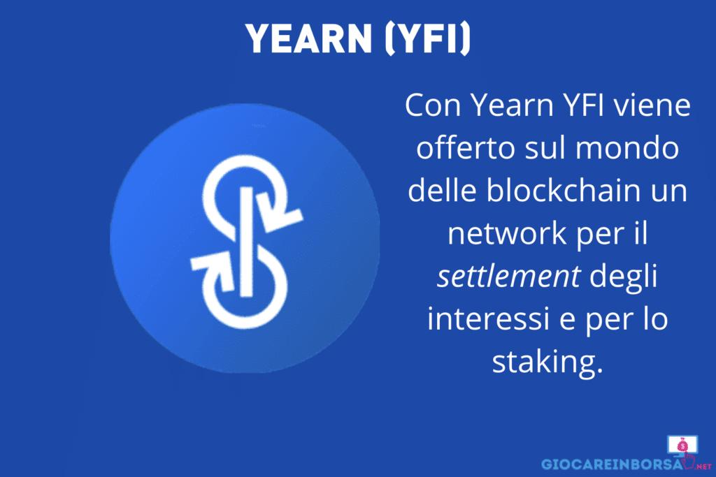 YFI - scheda