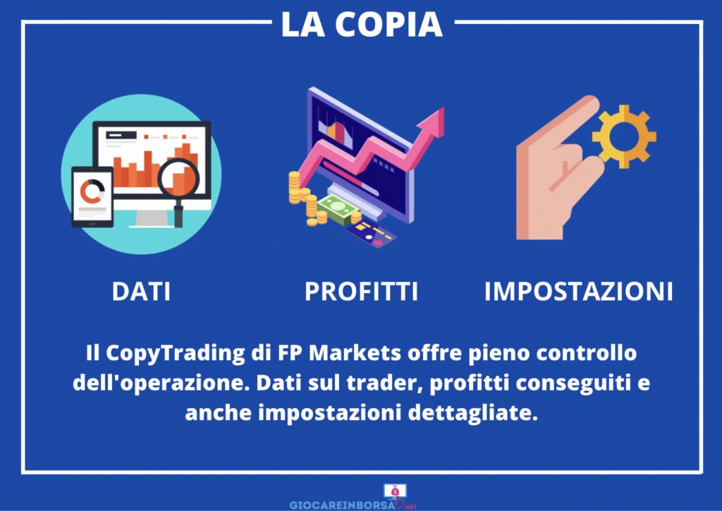 CopyTrading impostazioni - infografica a cura di Giocareinborsa.net
