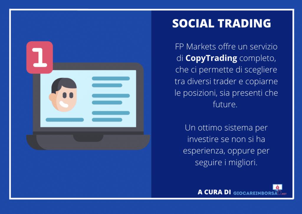 FP markets - social trading - infografica a cura di Giocareinborsa.net