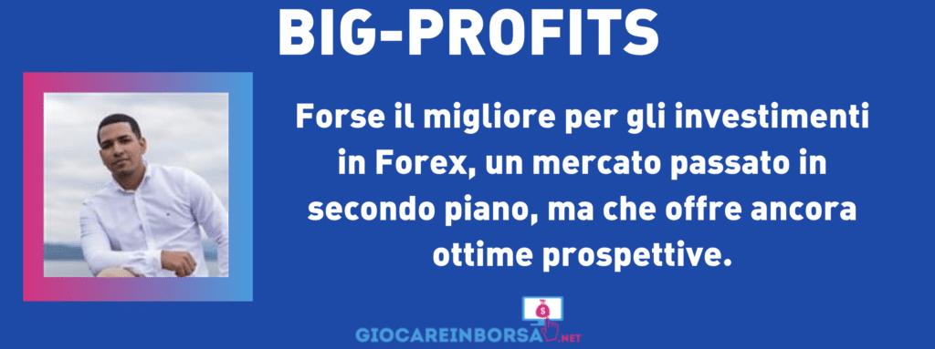 La scheda riassuntiva di big-profits - a cura di Giocareinborsa.net