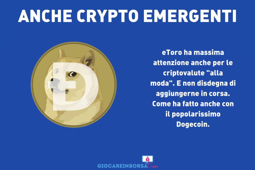 eToro - Dogecoin - a cura di GiocareInBorsa.net