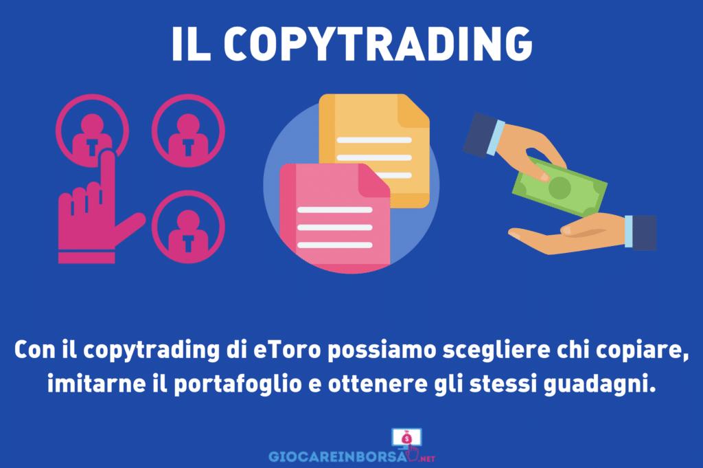 CopyTrading di eToro - a cura di GiocareInBorsa.net
