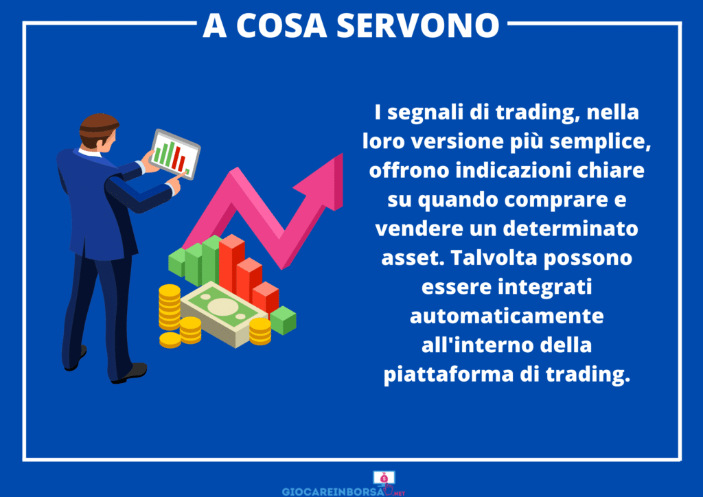 Segnali trading - utilità - infografica di GiocareInBorsa.net